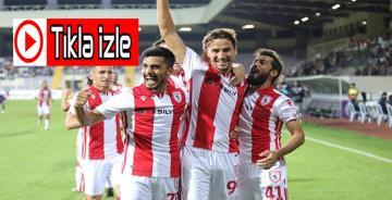 Afjet Afyonspor 0-1 Yılport Samsunspor…Tıkla golü izle…