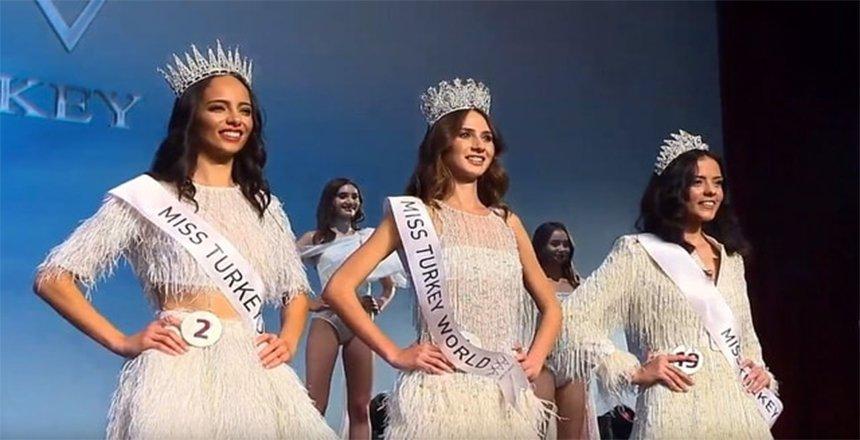 Miss Turkey 2019'u Simay Rasimoğlu kazandı