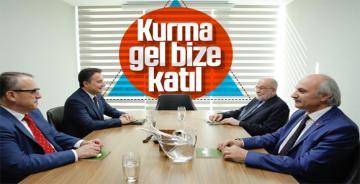 Karamollaoğlu, Babacan'la bir araya geldi!