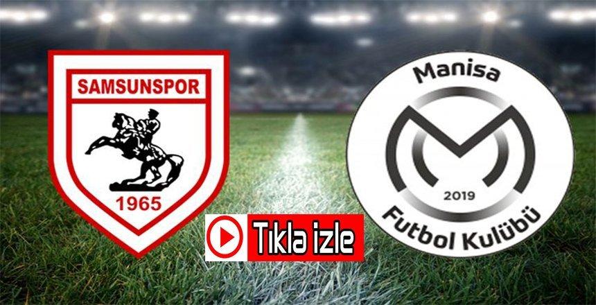 Yılport Samsunspor – Manisa FK Maç özeti
