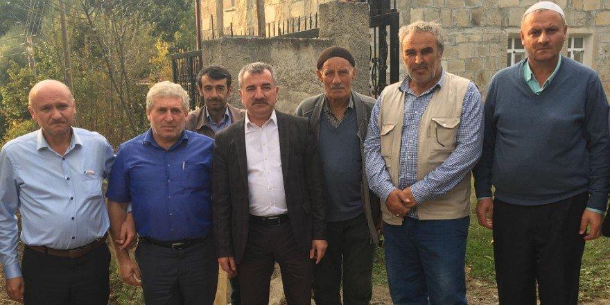 Başkan Özdemir kırsal mahallelerini ziyaret etti