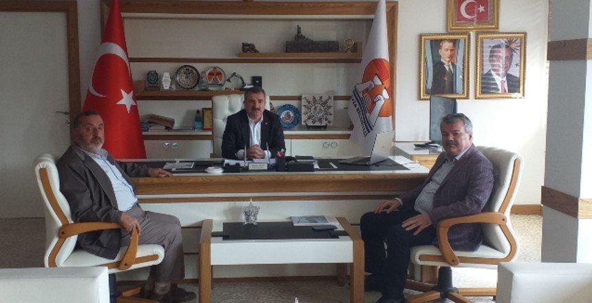 Erdoğan, Havza Belediye Başkanı Özdemir'i ziyaret etti!