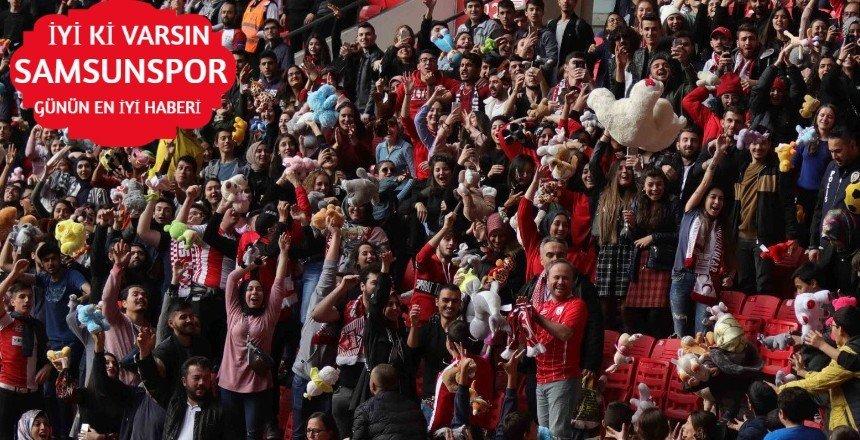 Samsunspor -Şanlı Urfaspor maçının çok özel konukları vardı!