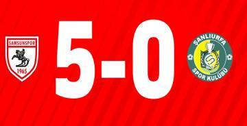 Yılport Samsunspor – Şanlıurfaspor geniç maç özeti