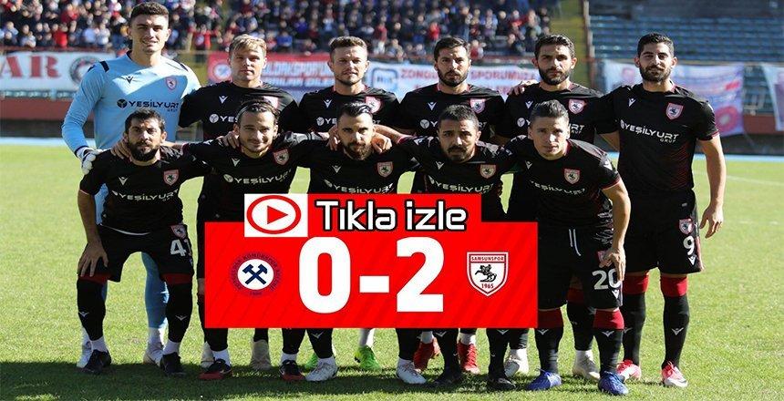 Zonguldak Kömürspoe – Yılport Samsunspor maç özeti