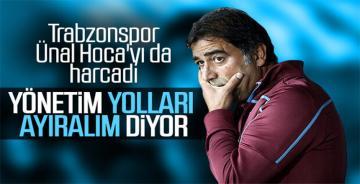 Trabzonspor'da Ünal Karaman'la yollar ayrıldı