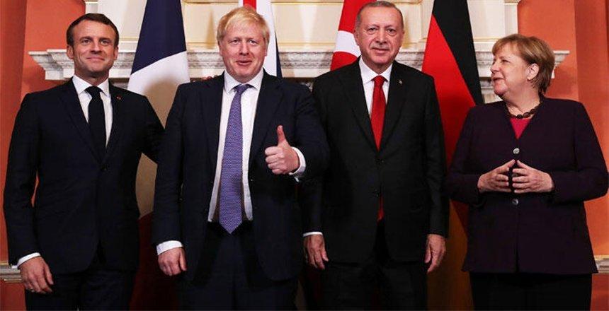 Cumhurbaşkanı Erdoğan dörtlü zirveye katıldı