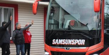 Yılport Samsunspor Karayolu ile Rize'ye gitti