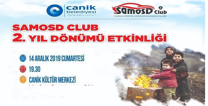 Samsun SAMOSD 2. Yıldönümünü anlamlı etkinliklerle kutluyor