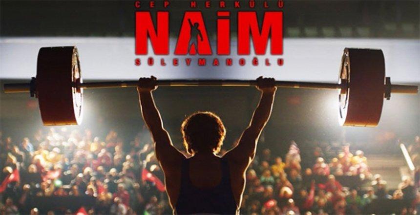 Naim Süleymanoğlu' filminin ekibi Samsun'da