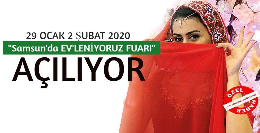 Tüyap Samsun Evleniyoruz Fuarı 4. defa kapılarını açıyor!