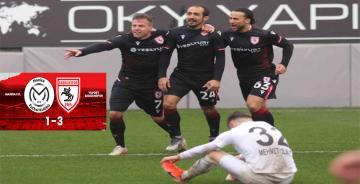 Samsunspor Manisa'yı Ezdi Geçti